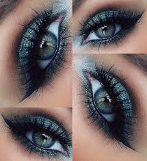 pretty looking nice eye makeup