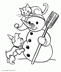 Small Picture Dog And Cat Coloring Pages With Dogs Cats 580x668gif Coloring Page