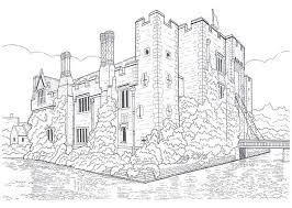 Small Picture 48 best Castle Coloring Pages images on Pinterest Coloring books