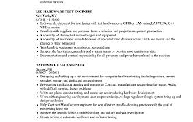 Rf Test Engineer Sample Resume Delectable Best Sample Test Engineer Resume Templates Headline For Software