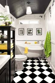 black and white bathroom tiles. Black And White Bathrooms; Design Ideas Image- This Old House Bathroom Tiles