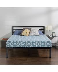 platform bed no box spring. Fine Box Zinus Quick Lock 14 Inch Metal Platform Bed Frame With Headboard Mattress  Foundation No With Box Spring R