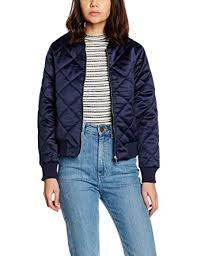 New Look Petite Women's Diamond Quilted Bomber Jackets: Amazon.co ... & New Look Petite Women's Diamond Quilted Bomber Jackets, Blue (Navy), ... Adamdwight.com