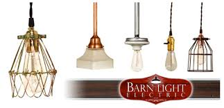 vintage lighting pendants. Barn Light Electric Vintage Industrial Cloth Cord Pendants Lighting