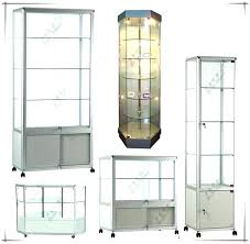 glass door display cabinet white display cabinet 2 glass doors o furniture ikea detolf glass door display cabinet