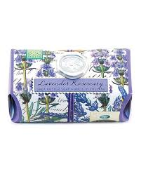 Soothing Scent Designs Michel Design Works Lavender Rosemary Bath Soap