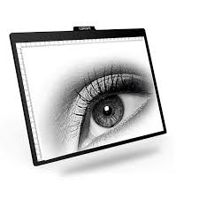 A4 Led Light Box Cornmi Ultra Thin Portable Light Board Tracing Usb