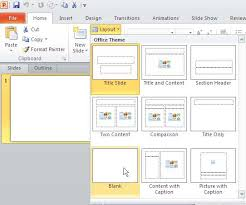 Design Slides For Powerpoint 2010 Change Slide Layout In Powerpoint 2010 For Windows