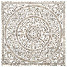 20 wooden carved wall art contemporary lotus wood carved plaque decor white wood wall art unique