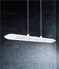 linear suspended lighting. interesting linear ultra modern matt white pendant light throughout linear suspended lighting