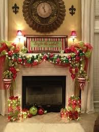 DIY Christmas Decoration Projects For Fireplaces