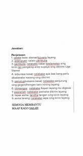 Berdasarkan teks hari air sedunia di atas, lengkapilah tabel berikut. Bahasa Jawa Kelas 8 Hal 104
