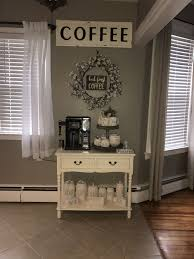 home coffee bar furniture. Kitchen Coffee Bar Ideas, Stations In Kitchens, Home Station Organizer, Furniture, #Home # Furniture