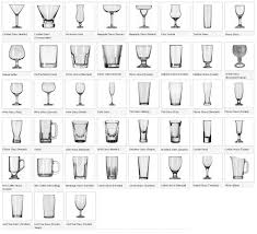 bar glassware  the wedding guy