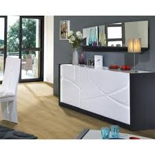 white lacquered furniture. Elypse I - White Lacquer Sideboard With Dark Wood Body Lacquered Furniture
