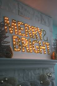 Merry Christmas Light Up Signs Outdoor Christmas Light Up Marquee Diy Decorating With Christmas