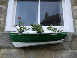 stonehaven fishing coble planter high street