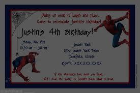 Spiderman Birthday Invitation Templates Free Free Spiderman Birthday Invitations Template Ragilwk Medium