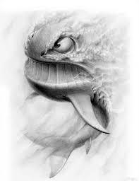 мужские эскизы тату рыбы