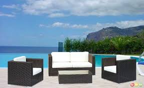 modern wicker patio furniture. Contemporary Wicker Patio Furniture Outdoor Modern . O