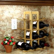 Kist 12 Bottle Tabletop Wine Rack