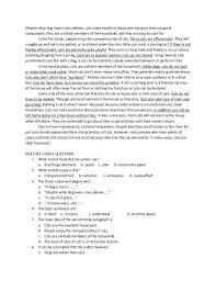 module in essay 21 despite what dog