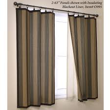 curtain panels for your home decor ideas woven stripe bamboo ring top curtain panels for
