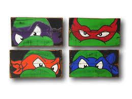 teenage mutant ninja turtle wall art
