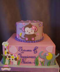 noahs ark baby shower ideas for baby shower party. (228) Jungle Theme Baby Girl Shower Cake Noahs Ark Ideas For Party O