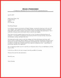 Artist Cover Letter Good Resume Format