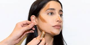 make up routines to contour and slim a chubby face