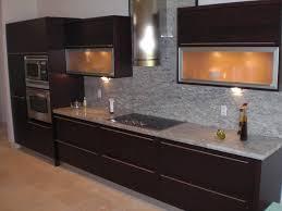 Backsplash For Dark Cabinets Kitchen Countertop Ideas With Dark Cabinets Fabulous Kitchen
