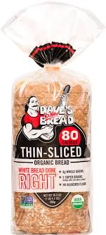 White Bread Done Right Thin Sliced Daves Killer Bread Organic