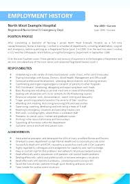 Resume Templates For Nurses Extraordinary Nursing Resume Template Nurses Resume Template New Registered Nurse