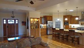 image result for front door opens into kitchen picture concept