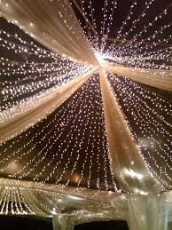 lighting ideas for weddings. hereu0027s an idea you can use for outoftheworld outdoor wedding transparent tents with lights and silver gold streamers lighting ideas weddings g