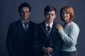 harry potter jamie parker albus severus potter sam clemmett and ginny weasley poppy miller in harry potter and the cursed child pottermore