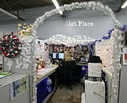 christmas office decorating ideas. Winter Wonderland Office Decorations Cube Decorating Ideas Christmas