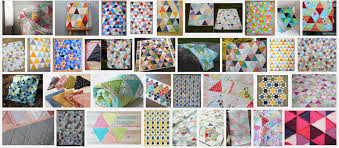 Quilting UnPlugged: Design Your Own Triangle Quilt! {tips & tricks ... & Triangle quilts are so fresh and modern, and can be stitched up in 'sew'  many ways. Don't believe me? Just Google 'equilateral triangle quilts' and  you'll ... Adamdwight.com