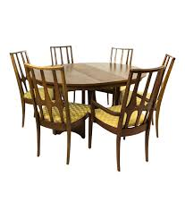 Chairs Dining Table Set 6 Chairs Broyhill Brasilia Round Dining