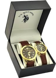 33 best images about u s polo assn watches polos u s polo assn men s and women s classic usc2241 brown leather strap watch set