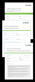 Annual Review Forms For Employees Employee Evaluation Forms And Performance Appraisal Form