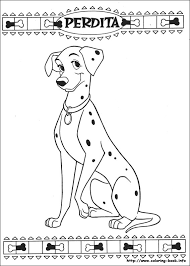 Small Picture 101 Dalmatians coloring picture 101 Day of School Pinterest