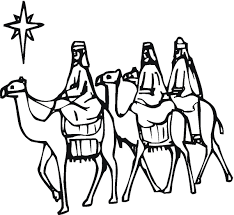 Three Wise Men Coloring Pages Free