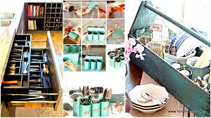 Diy kitchen projects Creative 27 Ingenious Diy Cutlery Storage Solution Projects That Will Declutter Your Kitchen Homesthetics 27 Ingenious Diy Cutlery Storage Solution Projects That Will
