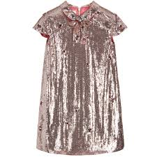 gucci robe. gucci - girls pink sequin dress | childrensalon robe