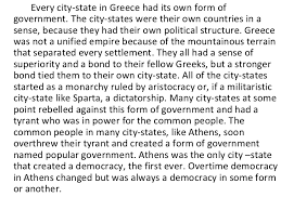 ans versus greeks essay powerpoint  8