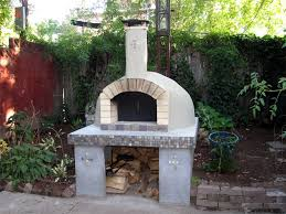backyard wood fired pizza oven pizza oven plans better homes and gardens