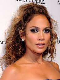 jennifer lopez tousled long curly hairstyles 2017