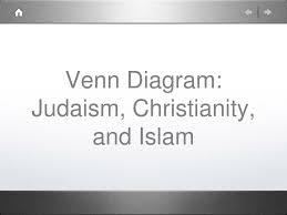 Buddhism And Christianity Venn Diagram Ppt Venn Diagram Judaism Christianity And Islam Powerpoint